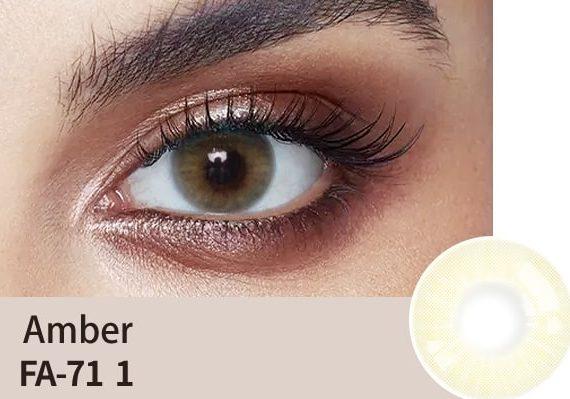 amber-colour-lens