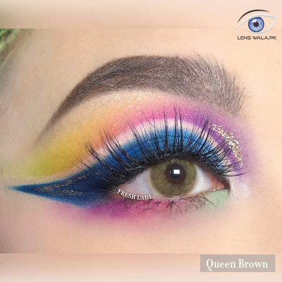Queen Brown Lens